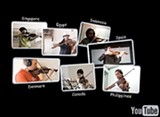 A still from the virtual symphony YouTube video