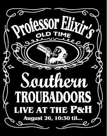 A vintage poster for Professor Elixir. And they really meant until.