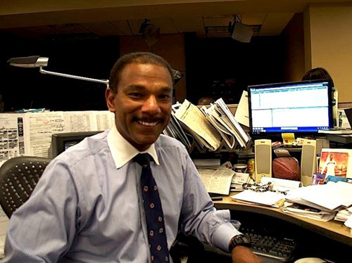 "Action News 5 sportscaster, Jarvis Greer, gives some wonderful advice to those looking to get into the business: ""talent without work equals nothing."""