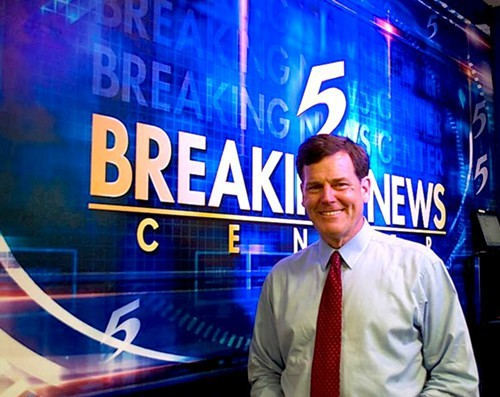 Action News 5 TV Anchor, Joe Birch, jokes that after winning, he calls his wife and thanks her for voting for him.