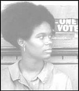 PHOTO BY HERBERT RANDALL - Activist Gracie Hawthorne in 1964, from Faces of Freedom Summer
