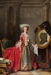 Adélaïde Labille-Guiard, Portrait of Madame Adélaïde, about 1787.