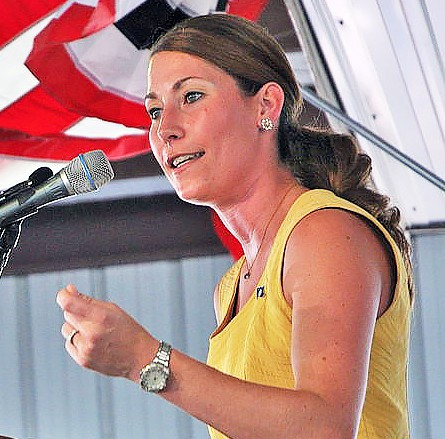 Alison Lundergan Grimes on the stump