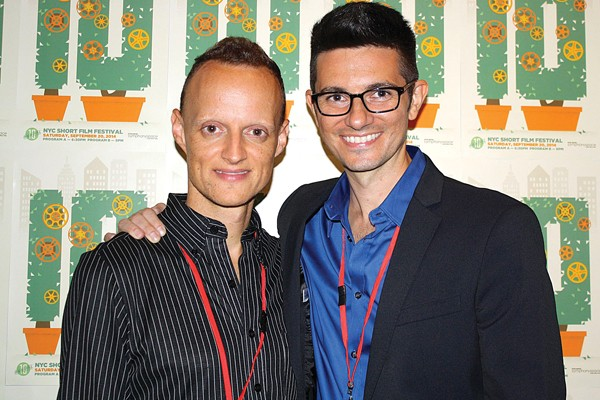 American Cheerleader directors David Barba (left) and James Pellerito (right)
