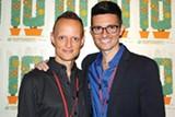 American Cheerleader directors David Barba (left) and James Pellerito (right)