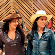 Amy LaVere and Shannon McNally at the Hi-Tone Café