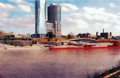 An early proposed version of Beale Street Landing.
