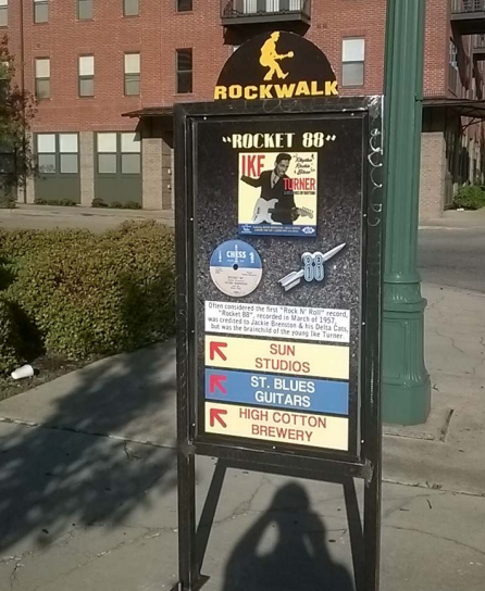 An example of a Rockwalk sign