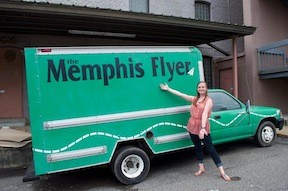 And have you met the Memphis Flyer truck?