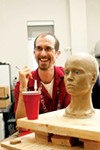 Andrew Olney of the University of Memphis, one of the brains behind the sci-fi robot superstar