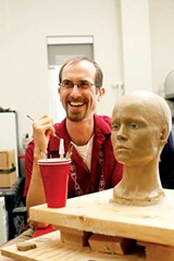 JUSTIN FOX BURKS - Andrew Olney of the University of Memphis, one of the brains behind the sci-fi robot superstar