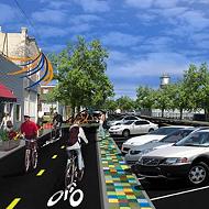 City Breaks Ground on Hampline Bike Path