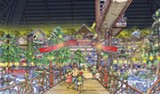 Artist's rendering of Bass Pro's grand entry - COURTESY OF BASS PRO SHOPS