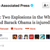 Associated Press Twitter Hacked; Market Tanks
