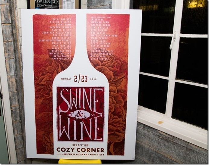 At Swine & Wine Benefiting Cozy Corner