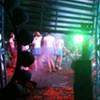 Backstage at Music Fest
