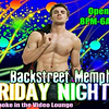 Backstreet Uses Fantastic Four's Chris Evans to Promote Friday Night Events
