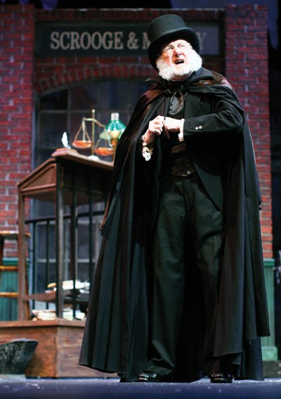 Barry Fuller as Scrooge