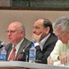 Bartlett Meeting Takes Gingerly Approach to Idea of Municipal District, Hits Merger Proponents