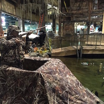 Bass Pro Shops retail tour