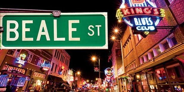 Memphis Food Beale Street