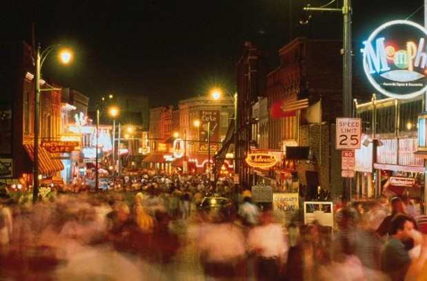 Beale Street New Years Eve