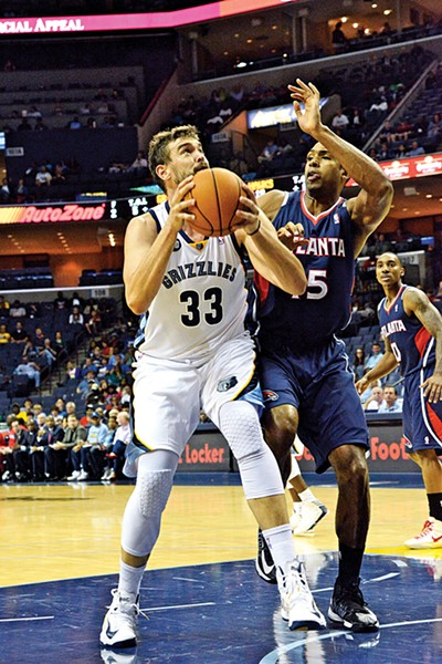 BEST LOCAL ATHLETE, GRIZZLIES PLAYER: Marc Gasol