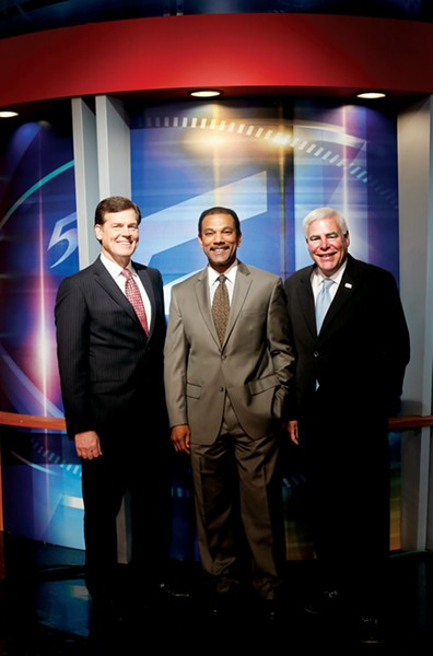 BEST TV ANCHOR: Joe Birch; BEST SPORTSCASTER: Jarvis Greer; BEST TV WEATHERPERSON: Dave Brown, WMC-TV Channel 5