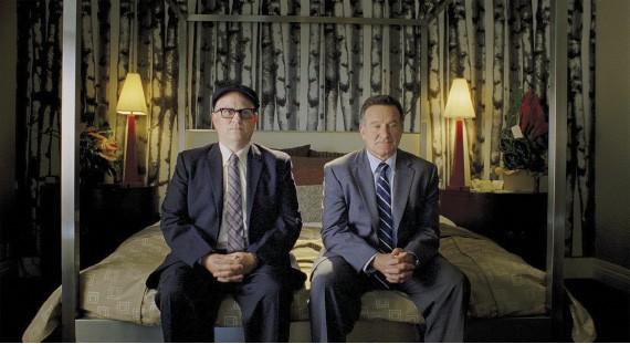 Bobcat Goldthwait and Robin Williams
