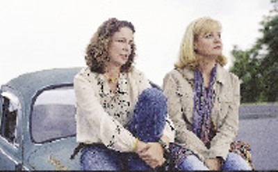Bonnie Hunt (right) searches for the son she gave away in Sundance contender Loggerheads.