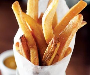 Brass Door's fries, cooked in duck fat
