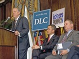(COURTESY GOVERNOR'S OFFICE) - Bredesen, Ford, and From at DLC announcement in Nashville