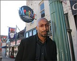 LISA BUSSER/USA TODAY - Brian Davis on Beale Street