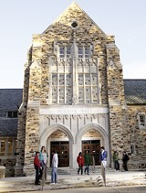 COURTESY OF RHODES COLLEGE - Burrow Hall at Rhodes College