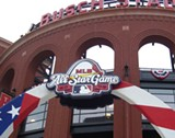 FRANK MURTAUGH - Busch Stadium puts out the welcome mat.