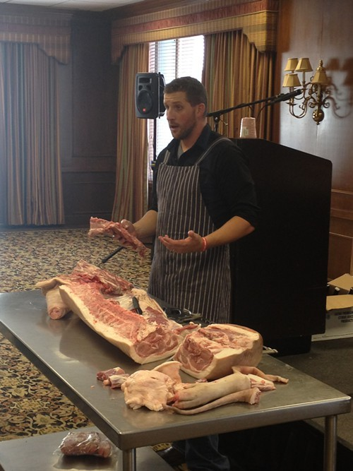 Butchering Demo by Dr. David Newman.