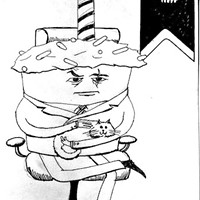 Cake Villain Promises World Domination, Fudge (Muahahahahahaha!!!)