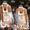 Grizzlies Lose to Nuggets; Iverson and 'Melo Dominate