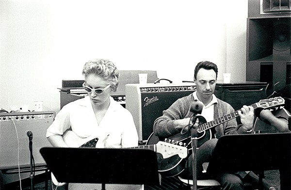 Carol Kaye and Bill Pitman