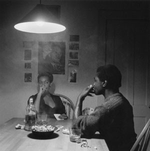 Carrie Mae Weems, from her Kitchen Table series.
