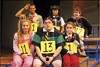 Cast from <i>The 25th Annual Putnam County Spelling Bee</i> touring production at The Orpheum