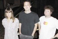 Cat Power, Stuart Sykes, and Adam Hill - COURTESY ARDENT STUDIOS