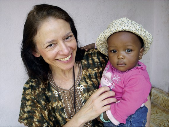 Cathy Schanzer of the Southern Eye Institute donates her time to performing eye surgeries in the developing world.