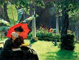 Charles Courtney Curran, Afternoon in the Cluny Garden Paris - FINE ARTS MUSEUMS OF SAN FRANCISCO, BEQUEST OF CONSTANCE COLEMAN RICHARDSON