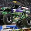 Cheap Art, Monster Trucks, and Tough Guys On Tap This Weekend