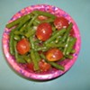 Cherry Tomato and Green Bean Salad
