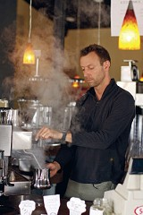 JUSTIN FOX BURKS - Chris Conner, owner of Republic Coffee