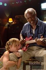 Christina Ricci and Samuel L. Jackson in Black Snake Moan.