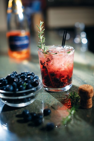 Cocktails at Second Line
