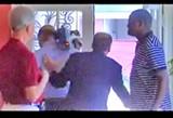 COURTESY WMC-TV - Cohen executing the bum's rush